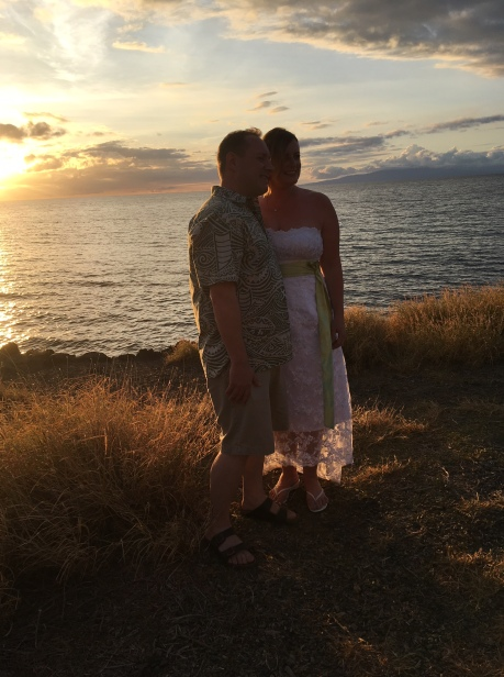 Sunset ceremony at the overlook south of Kam III